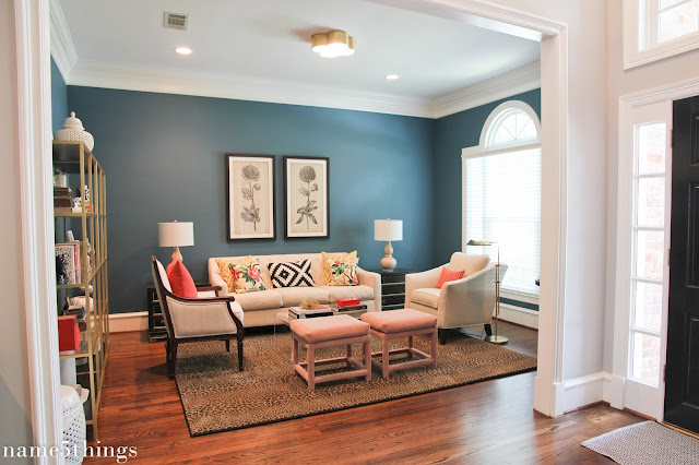 Name 5 Things Home Tour Formal Living Room
