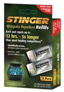 Stinger All Natural Mosquito Repellent Lantern refills