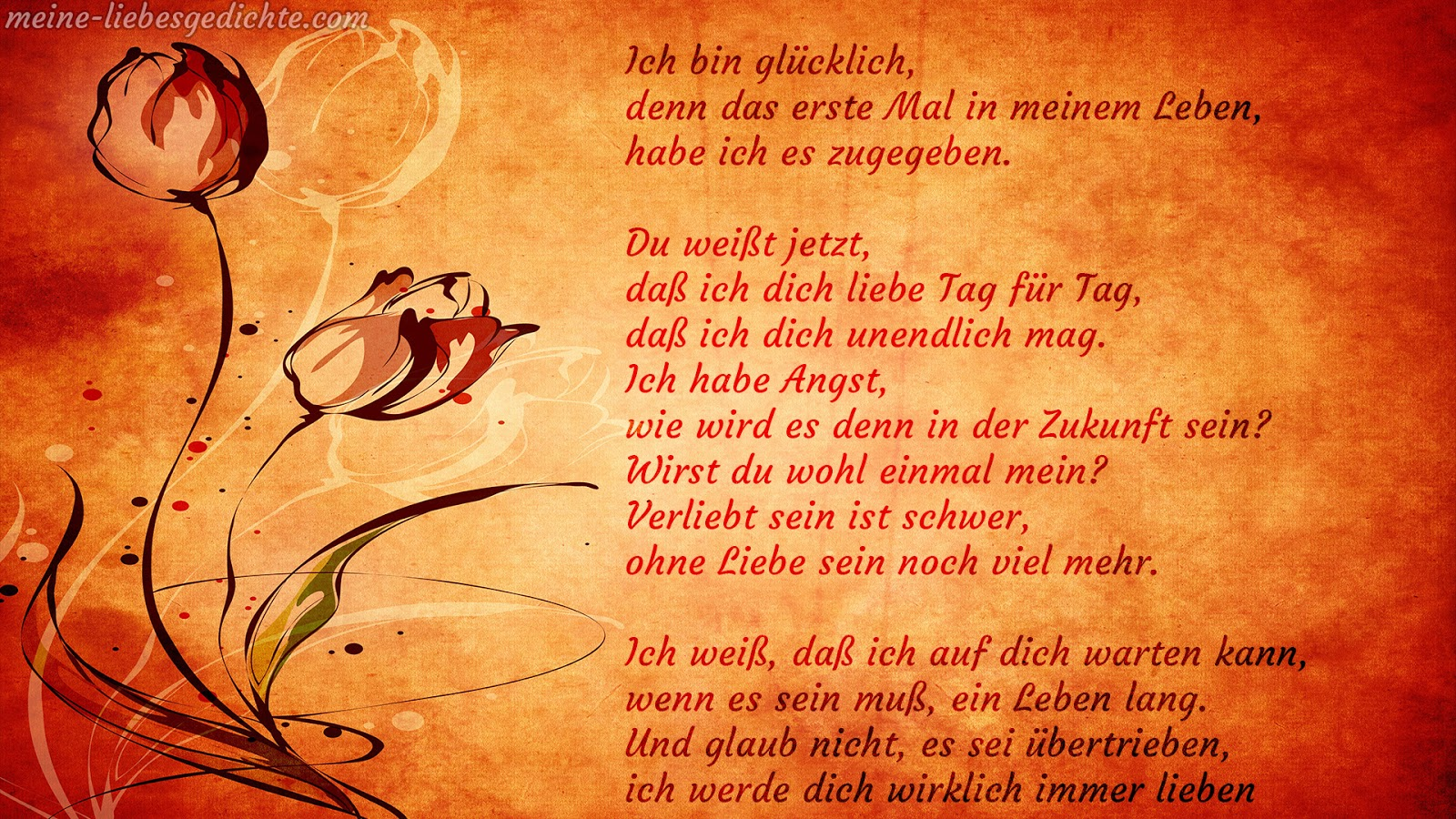 Hd Liebesgedichte Bilder: Liebesgedicht - Bilder