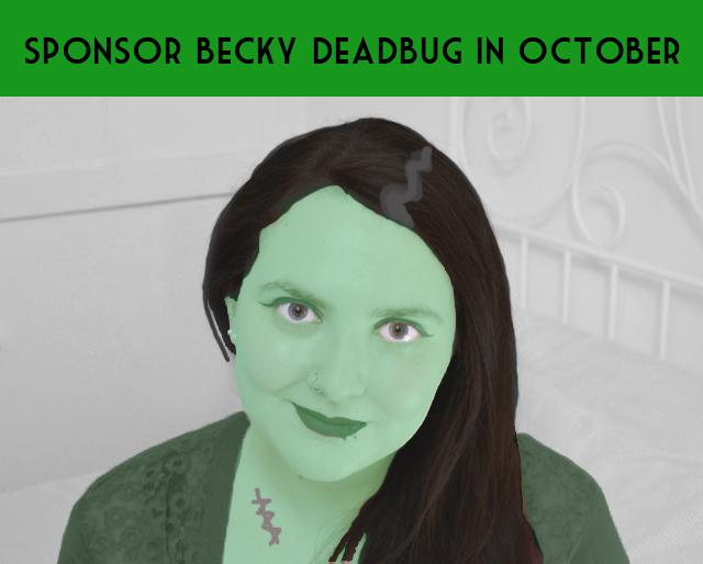 Becky Deadbug Halloween