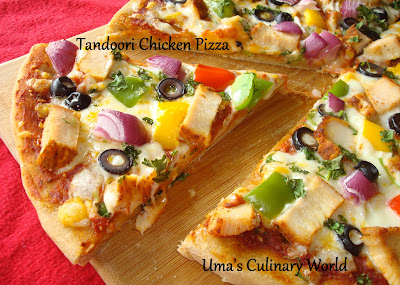 Tanduri Chicken Pizza