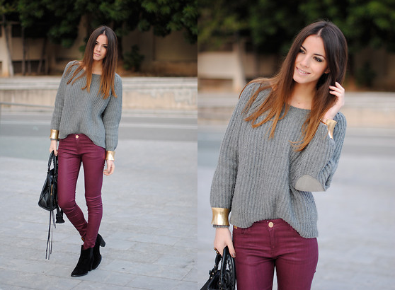 Burgundy Jeans, Street Style, Fashion Trends, Fall Trends 2013