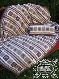 {Doing Life} RAILROAD EXPRESS THROW + CUSHION COVER