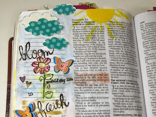 Bible Journaling | I Was Created to Bloom