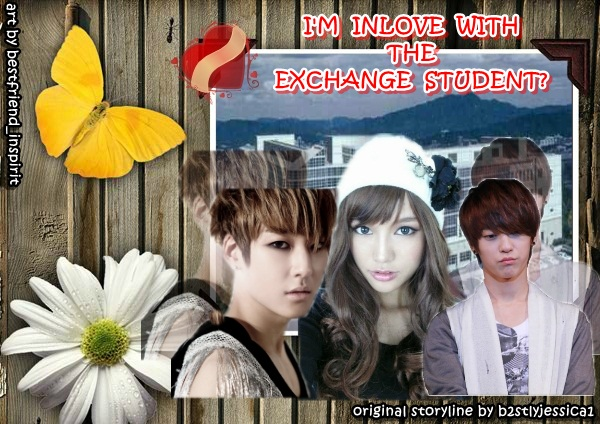 I'M INLOVE WITH THE EXCHANGE STUDENT? - kevin ljoe romance schoollife teentop ukiss you - main story image