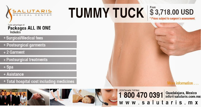 Tummy tuck plastic surgery in Mexico at the best price cost board certified surgeons
