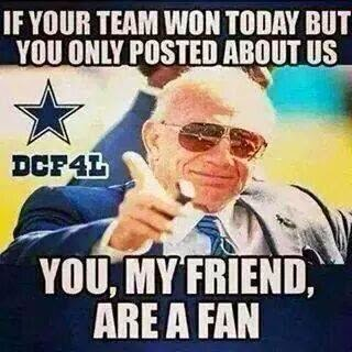 is your team won today but you only posted about us you, my friend, are a fan