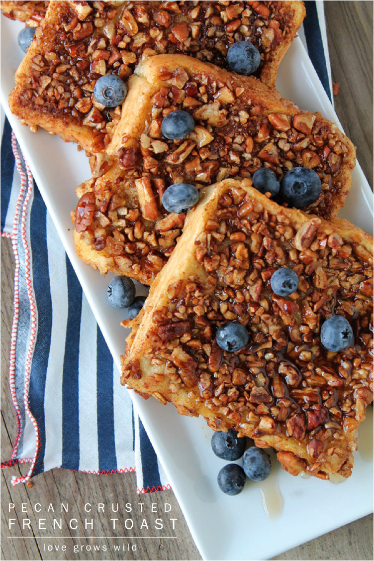 Pecan Crusted French Toast - the perfect french toast coated in ...