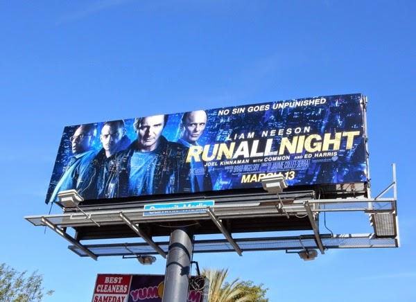 Run All Night movie billboards