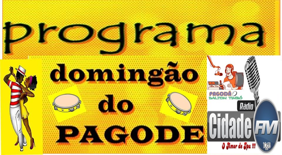 DOMINGÃO DO PAGODE