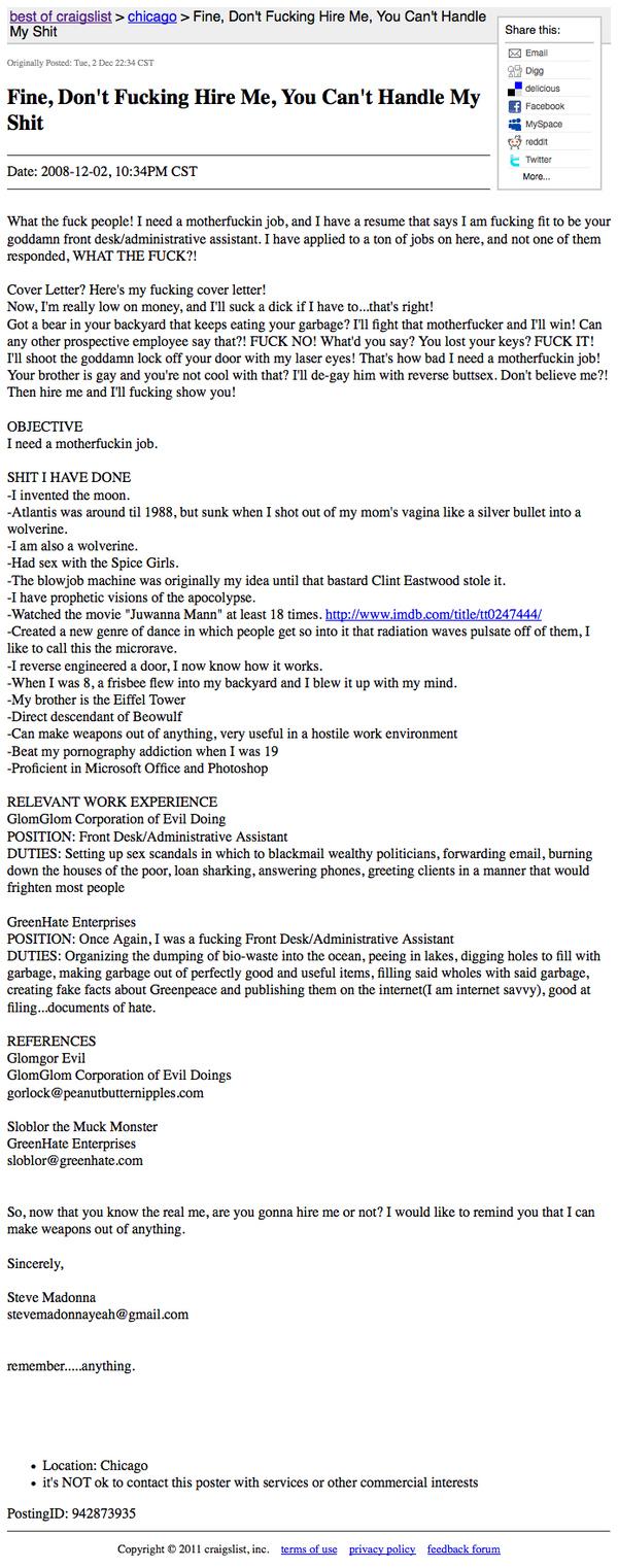 simplic☺ job hunting dos don ts
