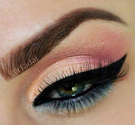 maquillaje paso a paso en tonos pasteles