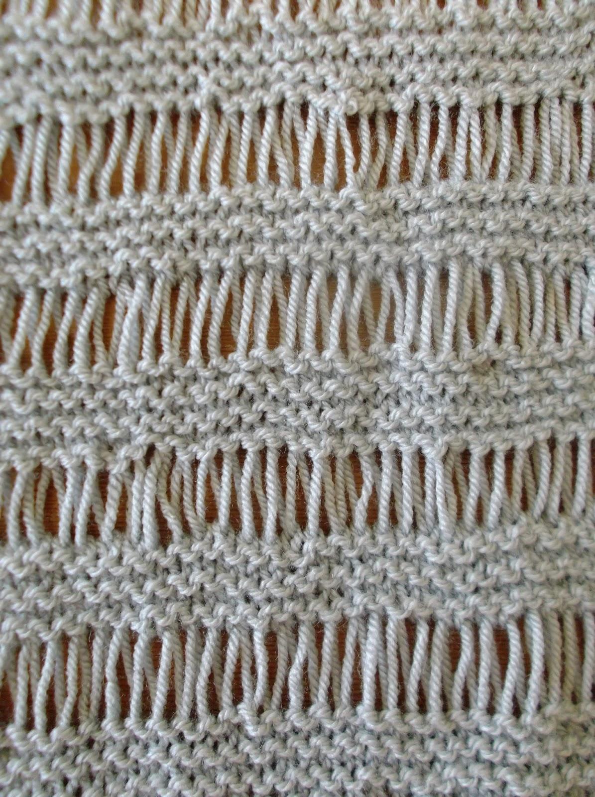 Beautiful Drop Stitch Scarf Knit Pattern Image - Easy Scarf Knitting ...