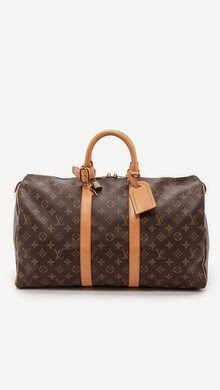 Vintage Louis Vuitton Monogram Keepall 45