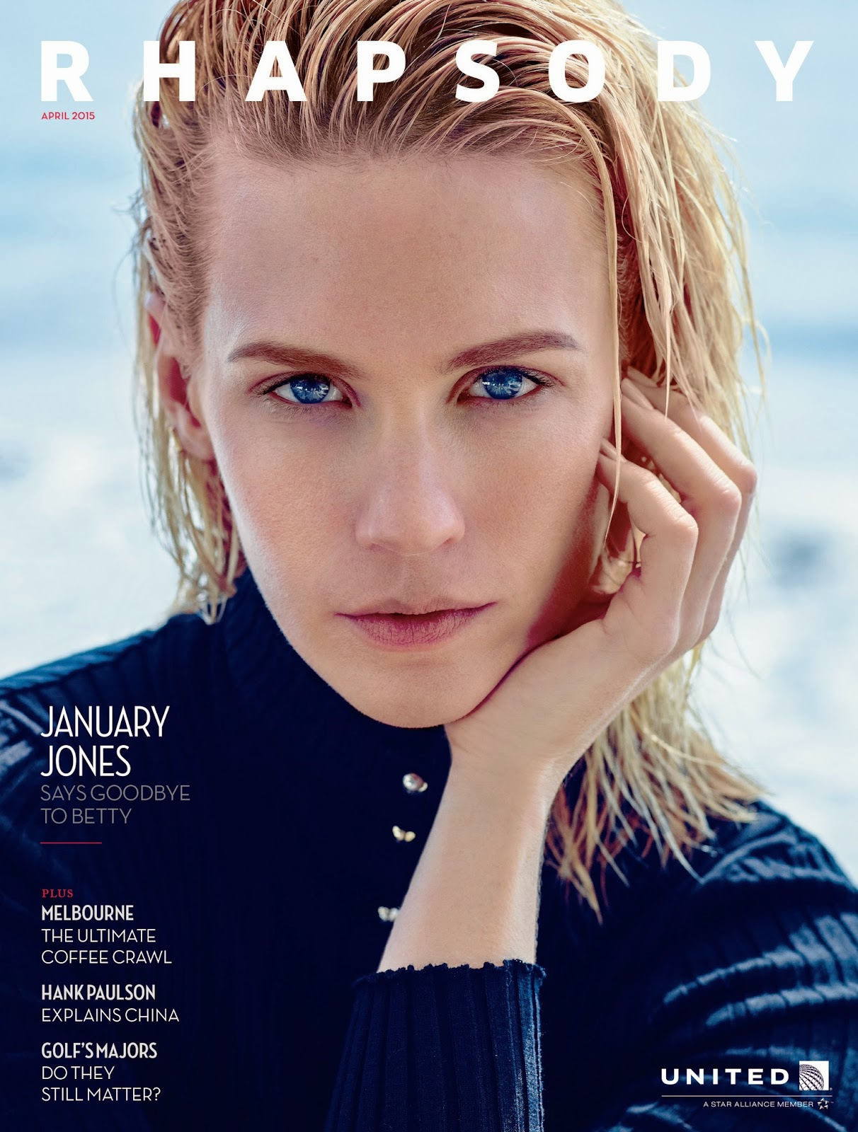 Actress @ January Jones - Rhapsody, April 2015
