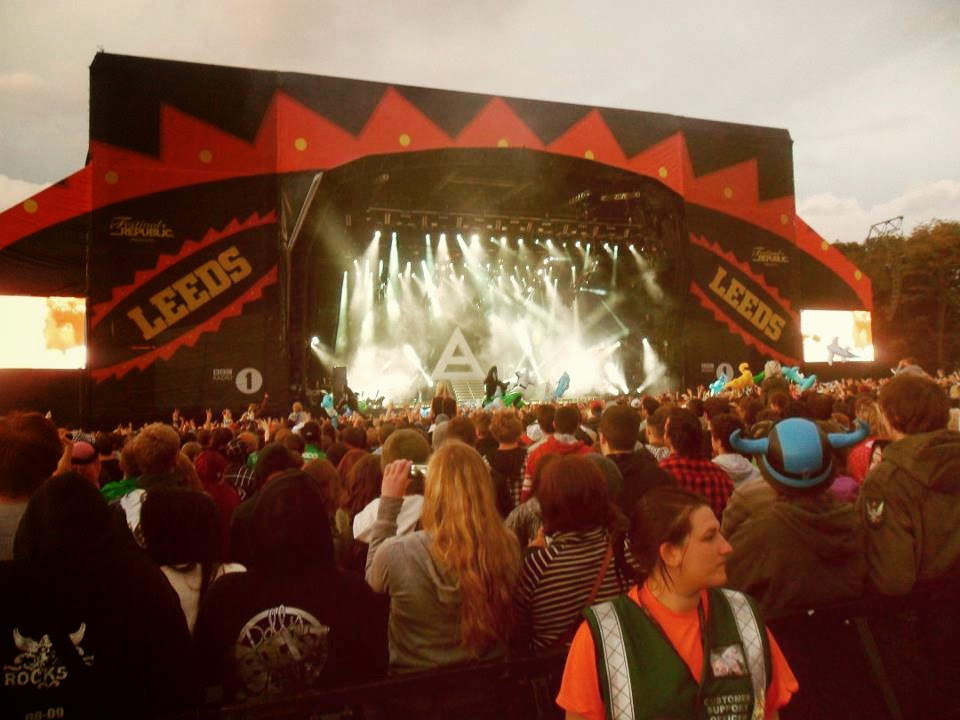 Leeds Festival 2009 30 Seconds to Mars