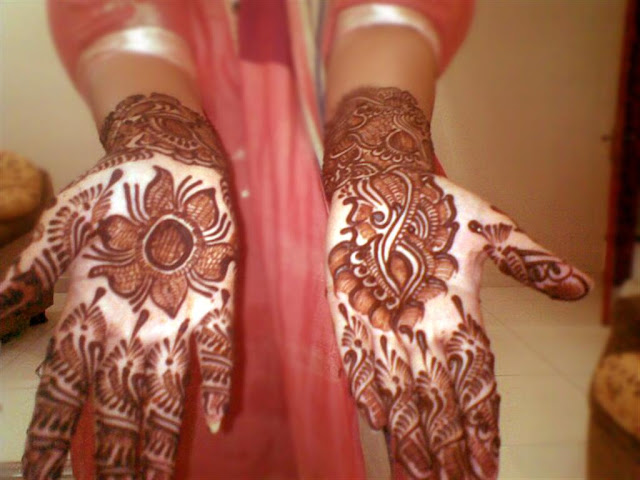 Hand Mehndi Designs Collection 2012