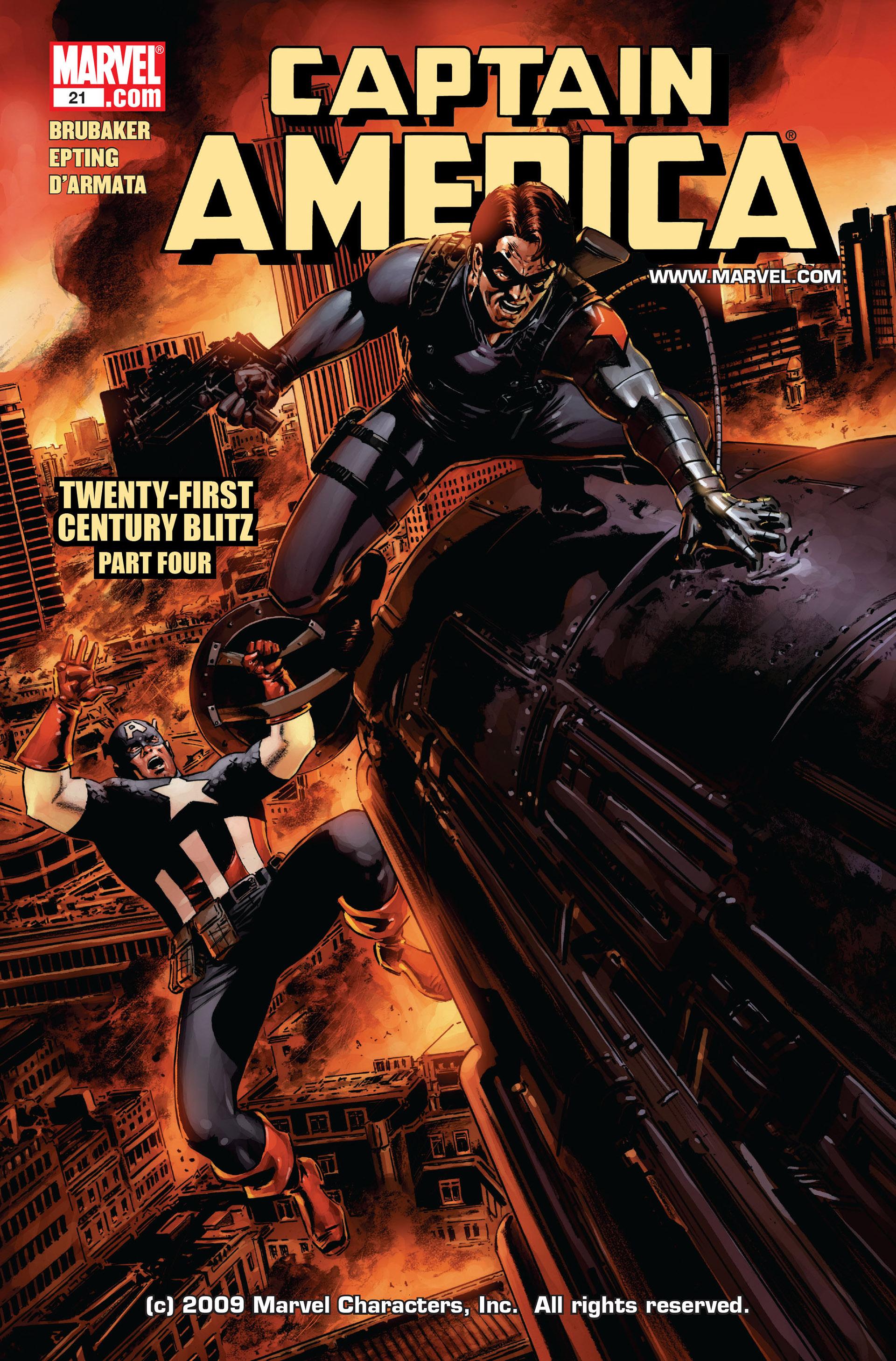 Captain America (2005) Issue #21 #21 - English 1