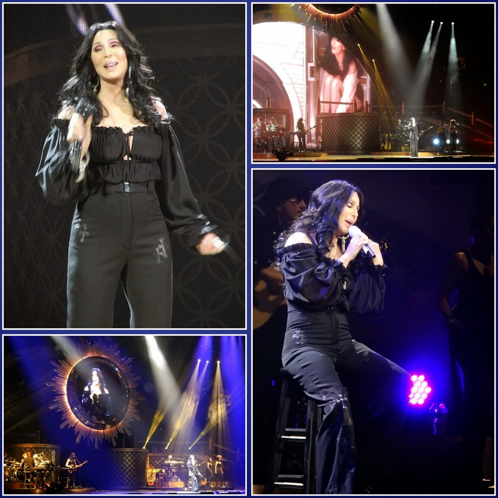 Cher - believe live - dressed to kill tour 2014
