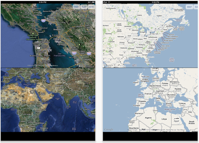 DoubleMap HD for iPad
