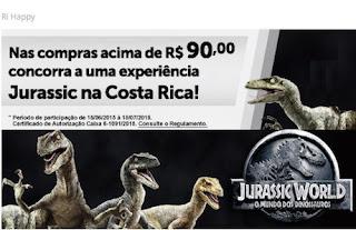 Participar da promoção Jurassic World Ri Happy