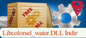 Libcolorsel_water.dll İndir