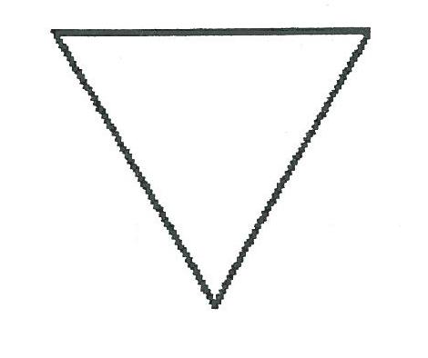 """Résultat de recherche d'images pour """"triangle vers le bas"""""""