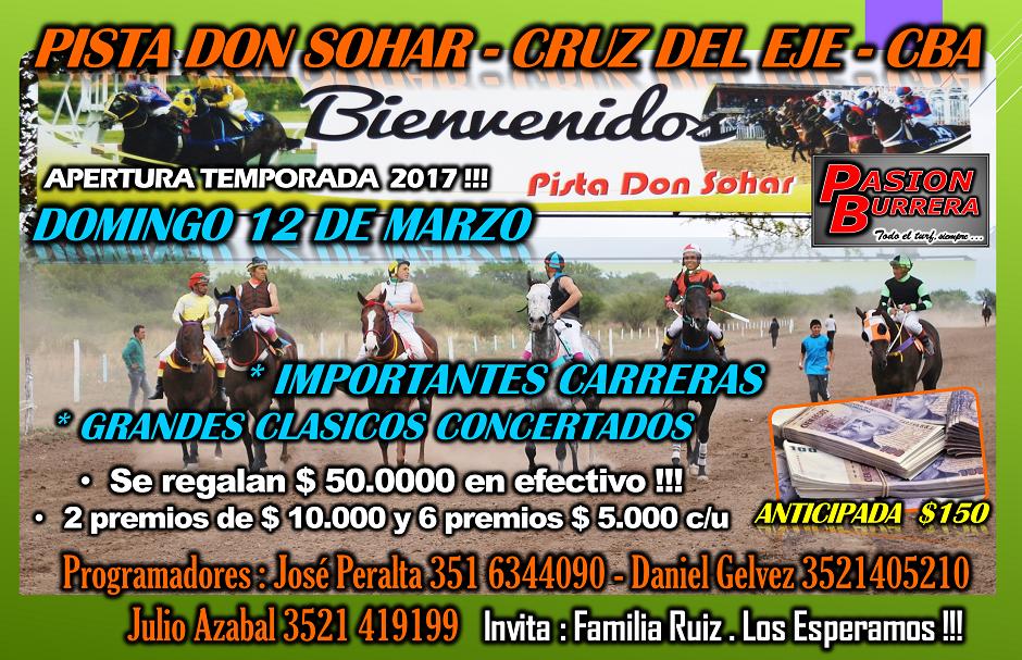 DON SOHAR - 12 DE MARZO