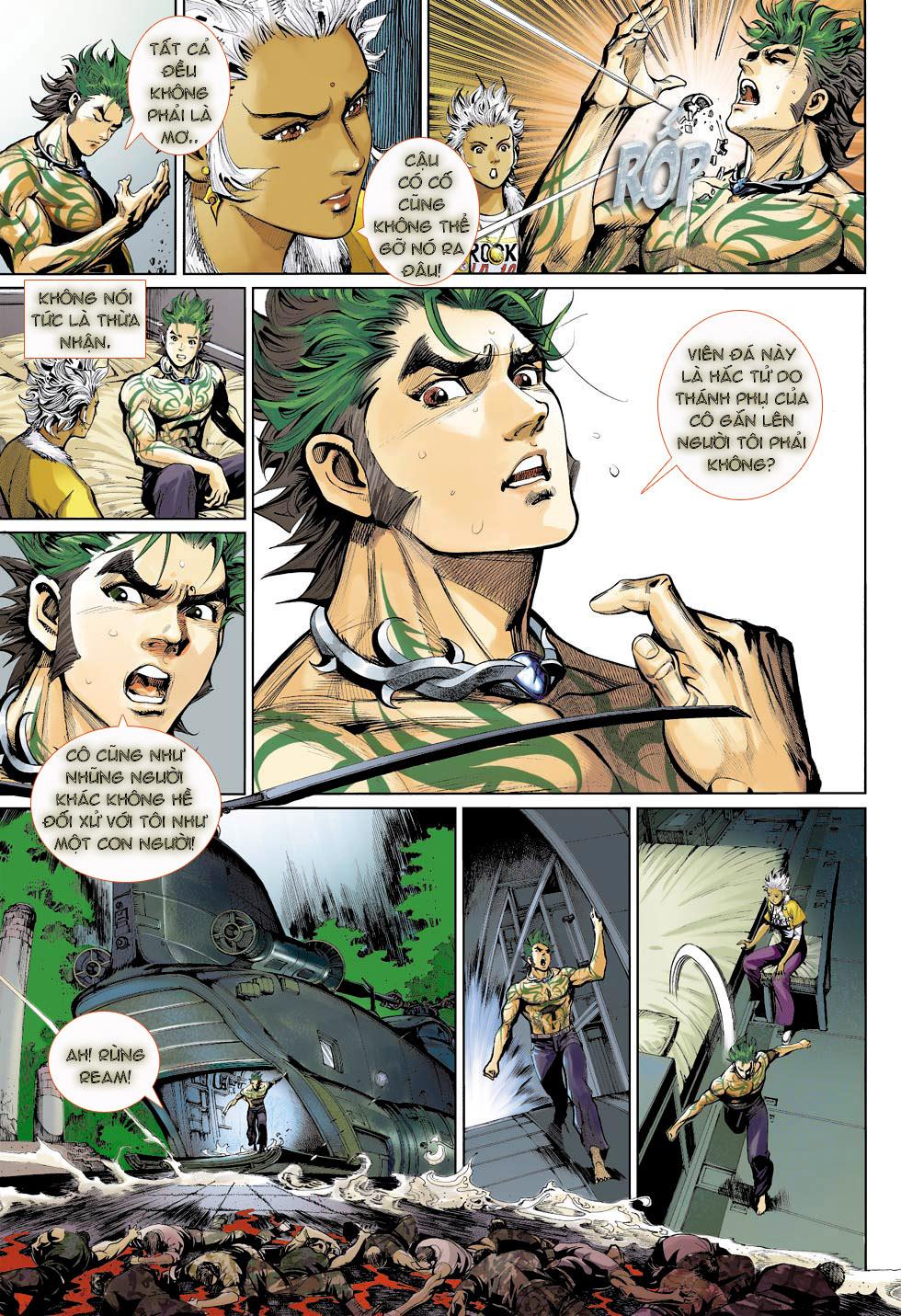 Thần Binh 4 chap 23 - Trang 15
