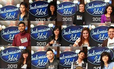 Biodata Lengkap Finalis Indonesian Idol 2012