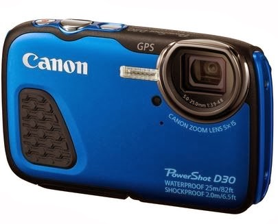Canon PowerShot D30 digital camera