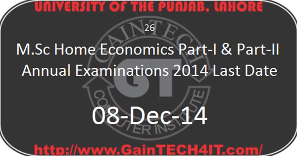 Punjab University Admissions Examinations