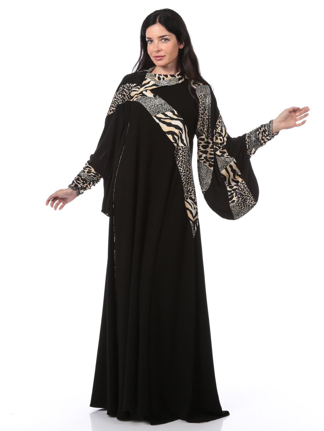 Jalabiya Designs 2013 | Arabic Kaftan Dresses Collection ...