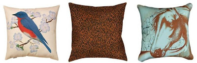 Dorm Room Decorating Ideas | Animal Print Pillows