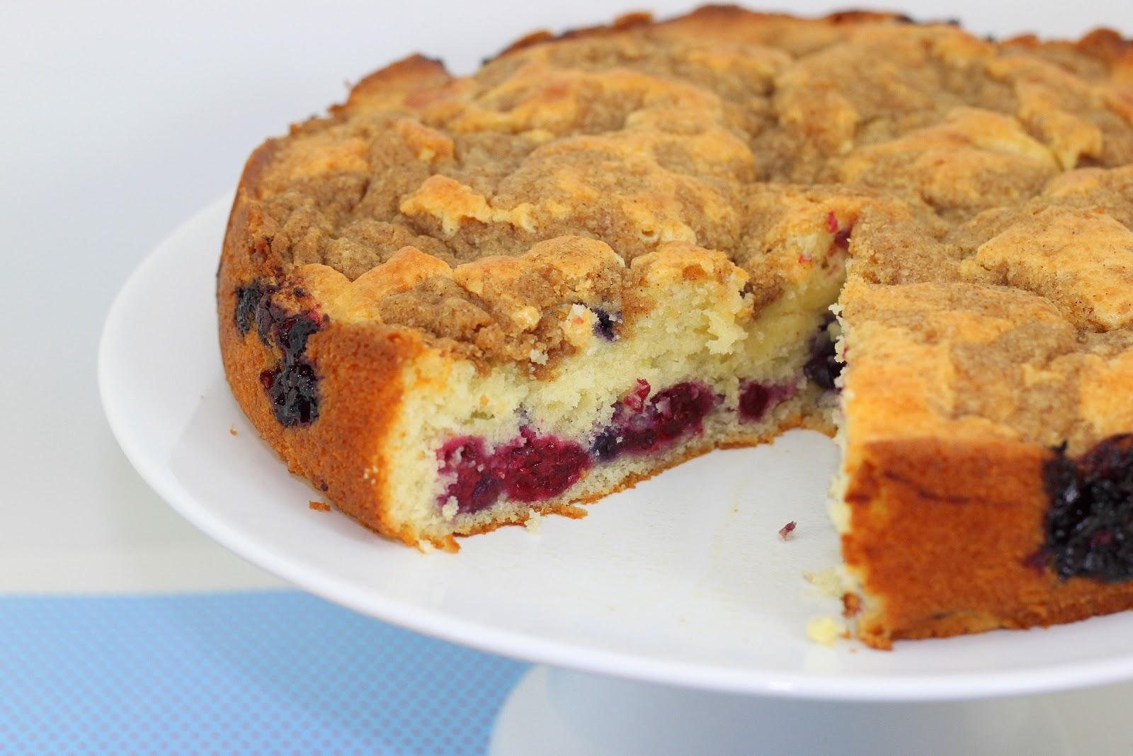 Good food recipes » Starbucks berry berry coffee cake recipe