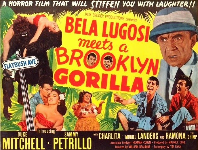 Bela Lugosi Meets a Brooklyn Gorilla The Bloody Pit of Horror Bela Lugosi Meets a Brooklyn Gorilla 1952