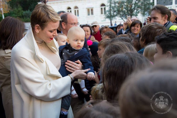 A surprise birthday celebration for Prince Jacques and Princess Gabriella on the occasion of their first birthday.