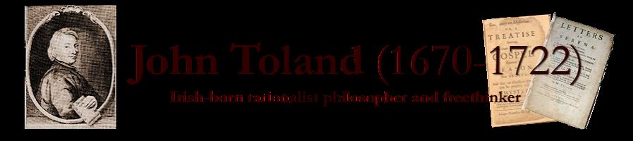 John Toland 1670-1722