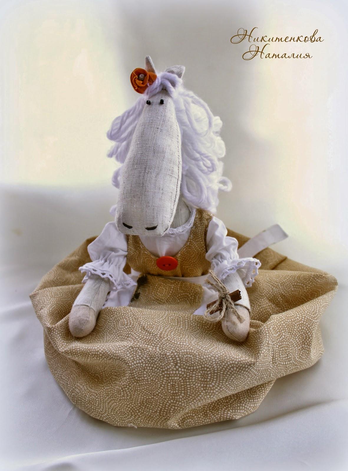 Лошадка пакетница для кухни подарок шитье
