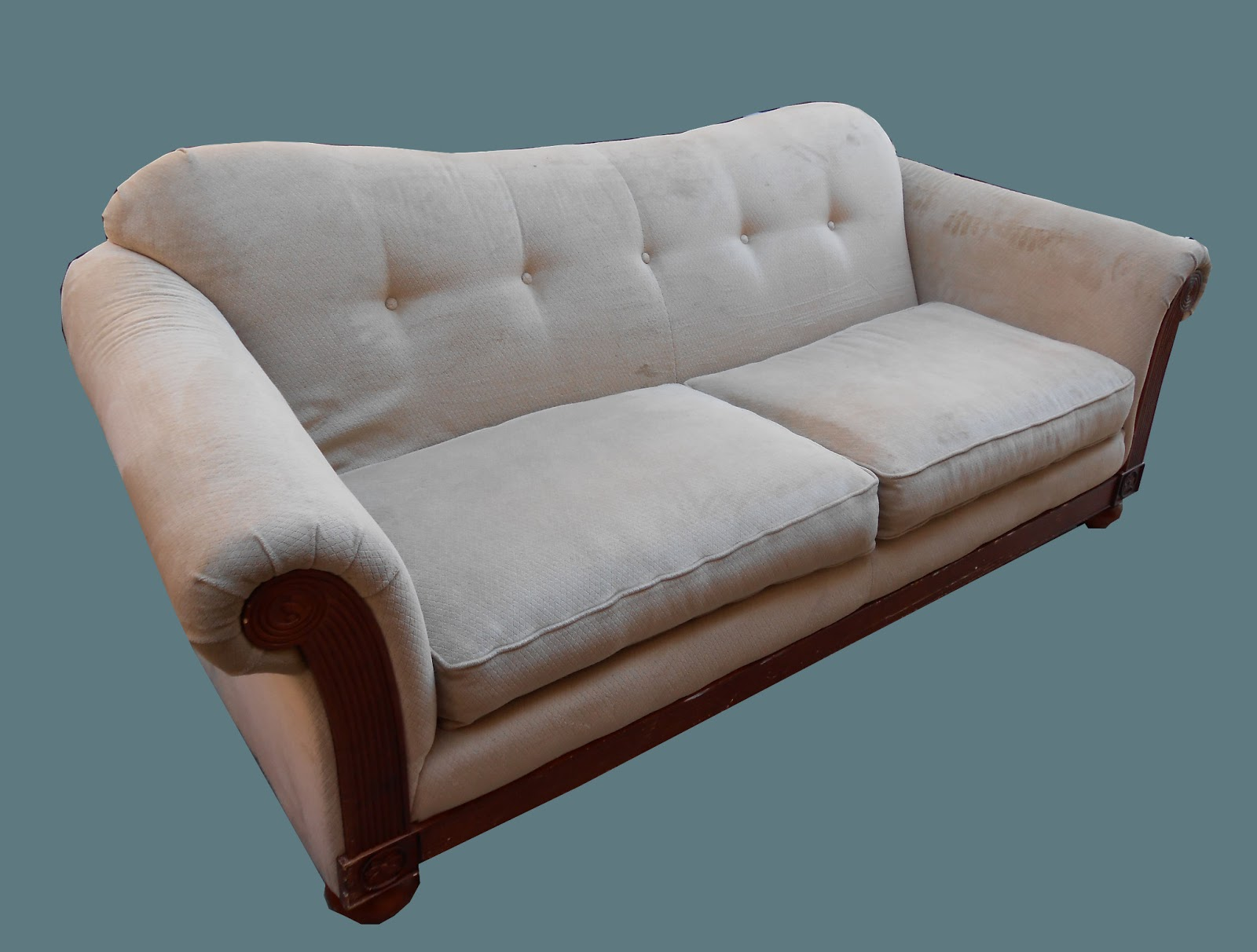 Uhuru Furniture Collectibles Double Camel Back Sofa Sold