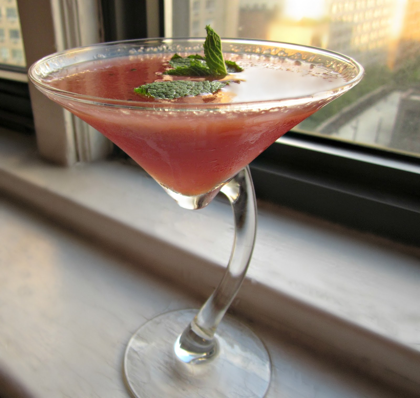 Hungry Couple: Watermelon Martini