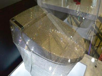 Wow Mangkuk Tandas Termahal D Penuhi Berlian