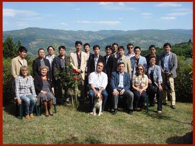 Foto di gruppo della delegazione Saizerya 2011