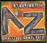 2012 A to Z Challenge Blogfest