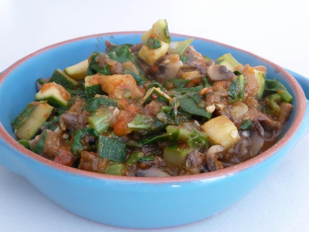 Winny wat eten we vandaag gebakken gnocchi met pesto en groente saus - Kook idee ...