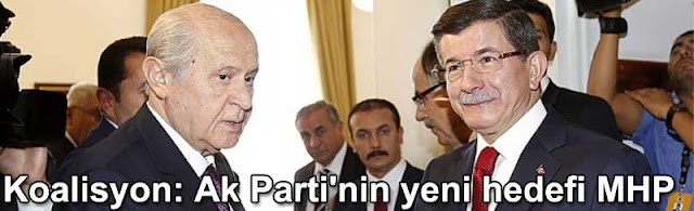 Koalisyon Ak Partinin yeni hedefi MHP