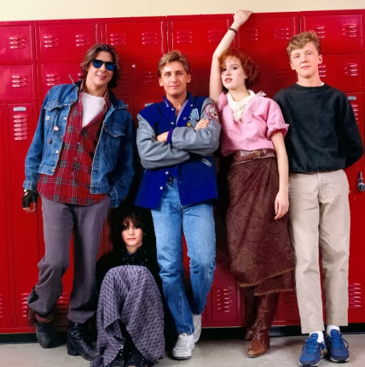 Aspiring to one day be as cool as the teens in John Hughes movies