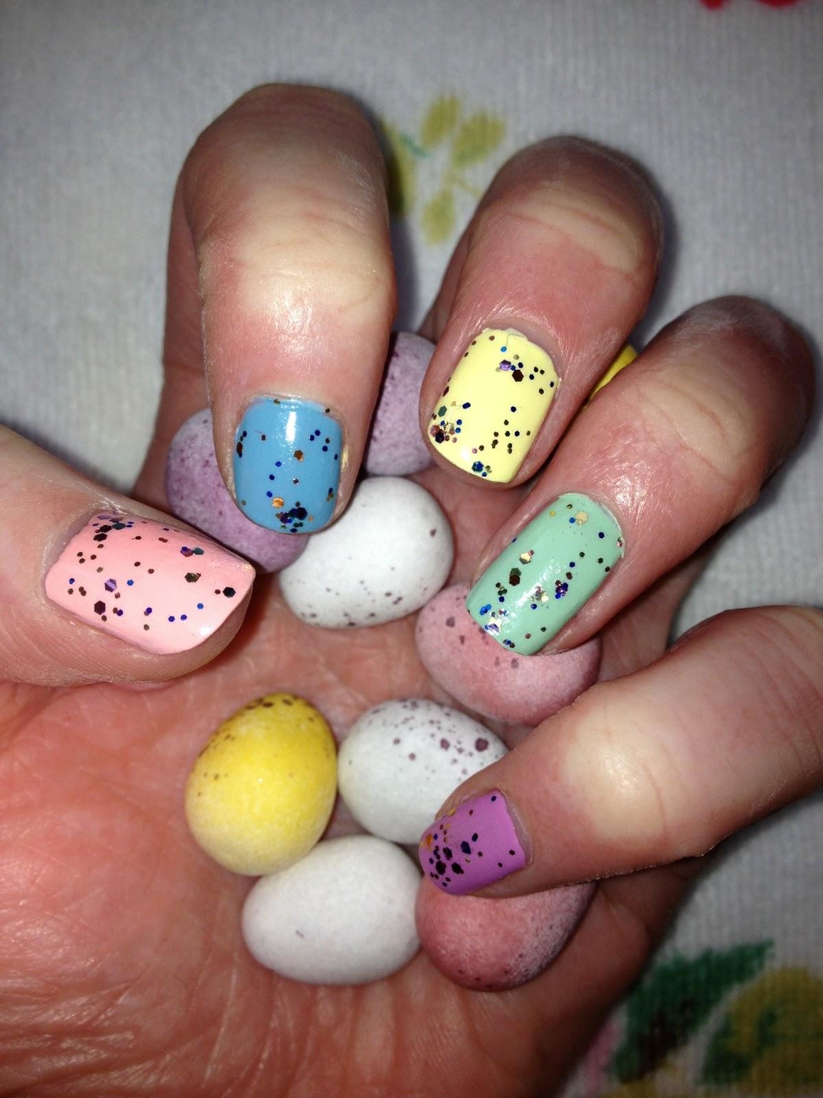 Easter Mini Egg Nails