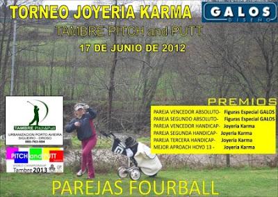 torneo Joyeria Karma en Tambre Pitch & putt