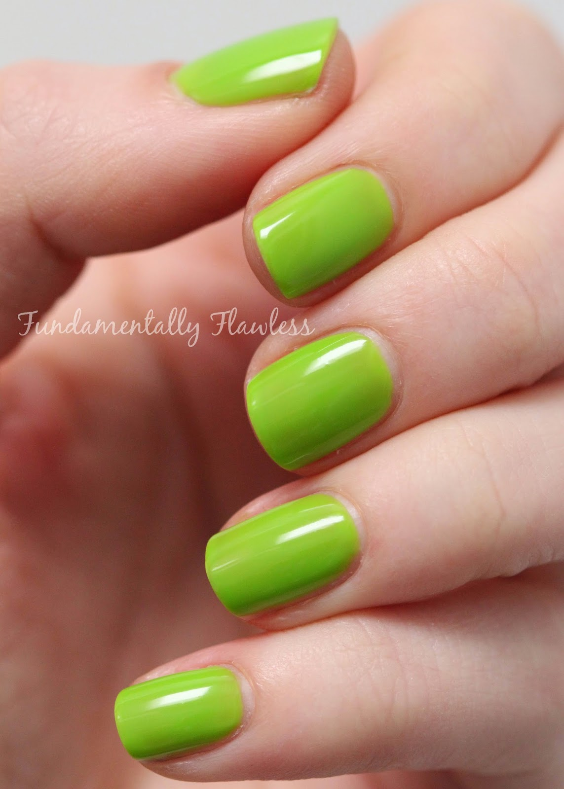 Models Own Tropical Green Hypergel swatch